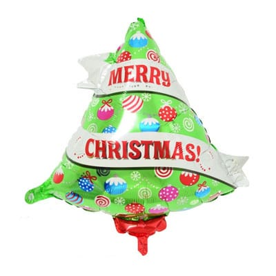 Christmas Tree Balloon.Christmas Tree Balloons 53cm