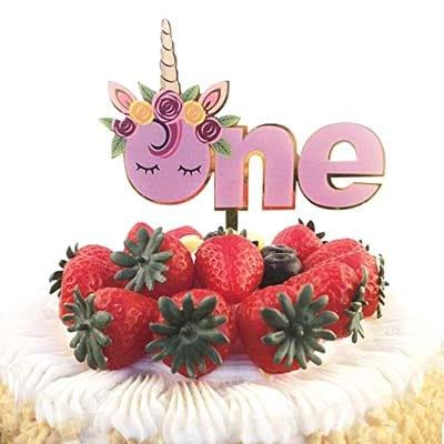 Birthday Cake Topper Unicorn 1st Birthday Cake Topper Party