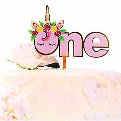 1st Birthday Cake Topper Unicorn Next
